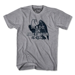 Objectivo Made in America Eagle Soccer T-Shirt (Gray)