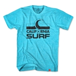 Objectivo California Surf Soccer T-Shirt (Blue)