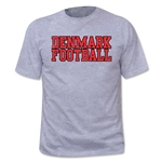 Objectivo Denmark Football Nation Soccer T-Shirt (Gray)
