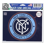 New York City FC 4x5 Decal