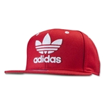 adidas Originals Thrasher Chain Snapback Hat (Sc/Wh)