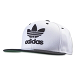adidas Originals Thrasher Chain Snapback Hat (Wh/Bk)