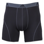adidas Sport Performance Boxer Briefs 2-Pack (Blk/Grey)
