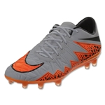 Nike Hypervenom Phinish II FG (Gray/Total Orange)