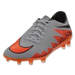 Nike Hypervenom Phatal II FG (Gray/Total Orange)