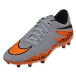 Nike Hypervenom Phelon II FG (Gray/Total Orange)