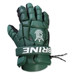 Brine King Superlight II Lacrosse Gloves (Dark Green)