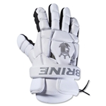 Brine King Superlight II Lacrosse Gloves (White)