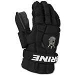 Brine King Superlight II Lacrosse Goalie Gloves (Black)