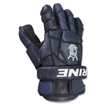Brine King Superlight II Lacrosse Goalie Gloves (Navy)