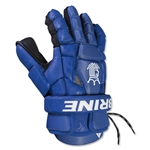 Brine King Superlight II Lacrosse Goalie Gloves (Royal)