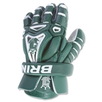 Brine King V Lacrosse Gloves (Dark Green)