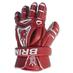 Brine King V Lacrosse Gloves (Red)