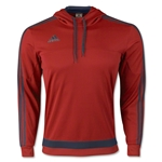 adidas Tiro Hoody (Red/Navy)
