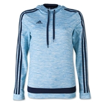 adidas Women'sTiro 15+ Graphic Hoody (Blue)