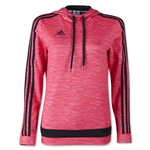 adidas Women'sTiro 15+ Graphic Hoody (Red)