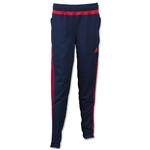 adidas Youth Tiro 15 Training Pant (Navy/Red)