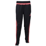 adidas Girls Tiro 15 Training Pant (Blk/Red)