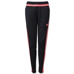 adidas Women's Tiro 15 Training Pant (Blk/Red)