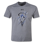 Under Armour Johns Hopkins Lacrosse Youth Tech T-Shirt (Gray)