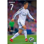 Real Madrid 14/15 Ronaldo Poster