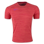 Nike Nike Flash DF Knit Training Top (Red)