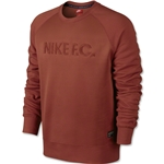 Nike FC AW77 LS Crew Shirt (Red)