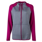 Nike Women's All Time FZ Hoody (Fuchsia)