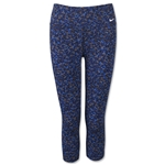 Nike Legend 2.0 DFC Women's Pebble Capri Pant (Royal)