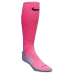 Nike Match Fit Soccer OTC Sock (Pink/Sv)
