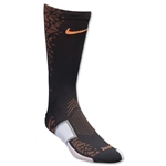 Nike Match Fit Elite Hypervenom Sock (Blk/Orange)