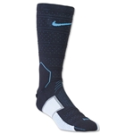 Nike Match Fit Elite Mercurial Sock (Black/Sky)