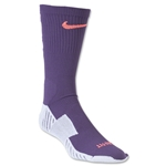 Nike Match Fit Soccer Crew Sock (Purple)