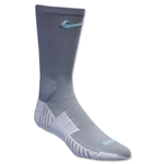 Nike Match Fit Soccer Crew Sock (Gray)