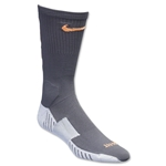 Nike Match Fit Soccer Crew Sock (Slv/Or)