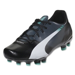 PUMA evoSPEED 5.3 FG Graphic Junior (Black/White/Turbulent)