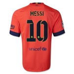 Barcelona 14/15 MESSI Away Soccer Jersey