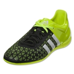 adidas ACE 15.3 IN Junior (Black/White/Solar Yellow)
