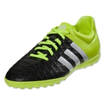adidas ACE 15.4 TF Junior (Black/White/Solar Yellow)