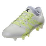 adidas X 15.1 Women's FG/AG (White/Night Metallic)