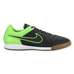 Nike Tiempo Genio Leather IC (Black/Green Strike)