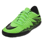 Nike Hypervenom Phelon II IC Junior (Green Strike)