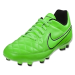 Nike Tiempo Genior Leather FG Junior (Green Strike)