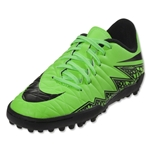 Nike Hypervenom Phelon II TF Junior (Green Strike)