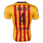 Barcelona 15/16 I. RAKITIC Authentic Away Soccer Jersey