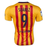 Barcelona 15/16 SUAREZ Authentic Away Soccer Jersey
