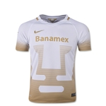 UNAM Pumas 15/16 Youth Home Soccer Jersey