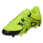 adidas X 15.3 FG/AG Junior (Solar Yellow/Black)