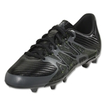 adidas X 15.3 FG/AG Junior (Black/Solar Yellow/Night Metallic)