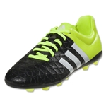 adidas ACE 15.4 FXG Junior (Black/White/Solar Yellow)